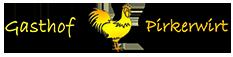 Gasthof Pirkerwirt Logo
