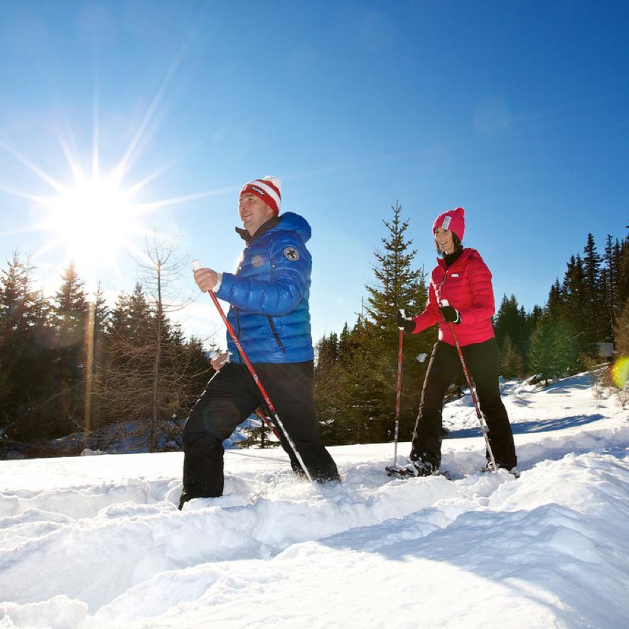Winter Wanderwege Katschberg